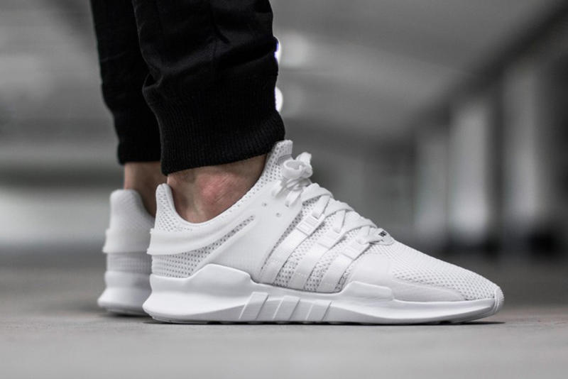 "A Closer Look at the adidas Originals EQT Support ADV ""Triple White"""