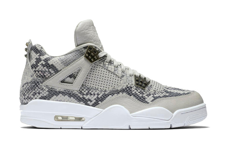 The Craziest Air Jordan 4 Yet Is Covered in Snakeskin 759ef9718