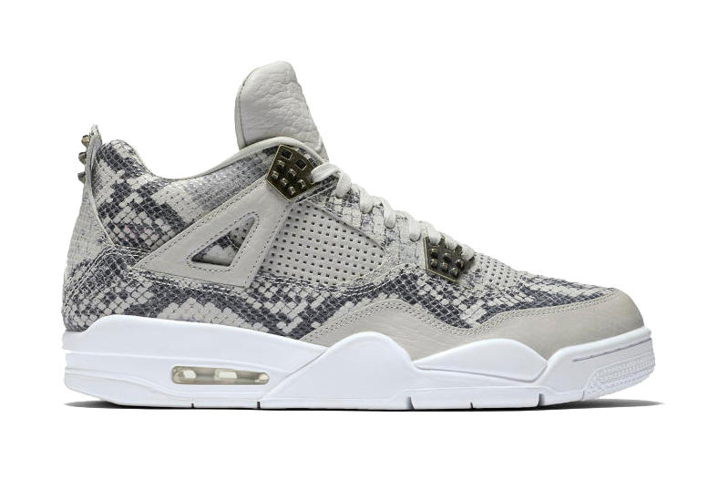 fab36cdf9b6 The Craziest Air Jordan 4 Yet Is Covered in Snakeskin