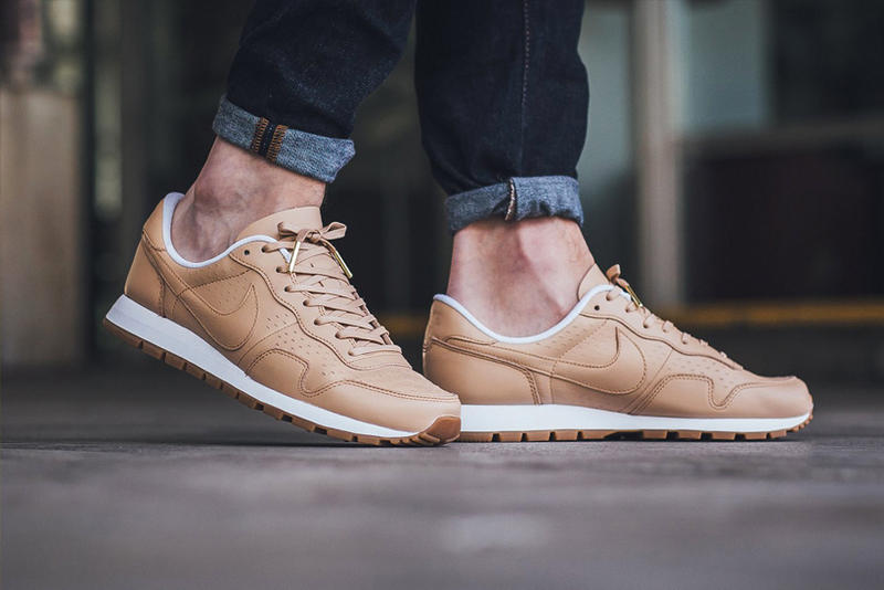new product 7030f b8eef The Nike Air Pegasus 83 Laser Premium Gets the All-Tan Treatment