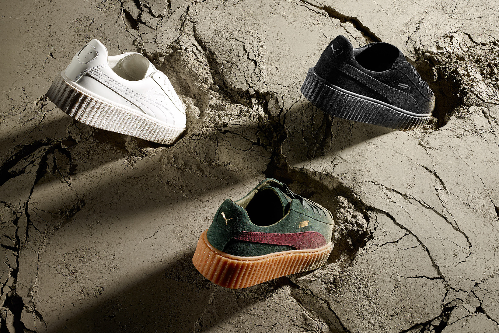 puma shoes rihanna creepers