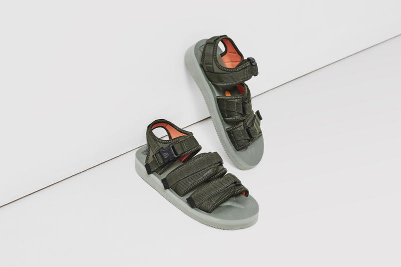 5cd3c4a8ac6 Footpatrol x BEAMS T Suicoke GGA-V Sandals