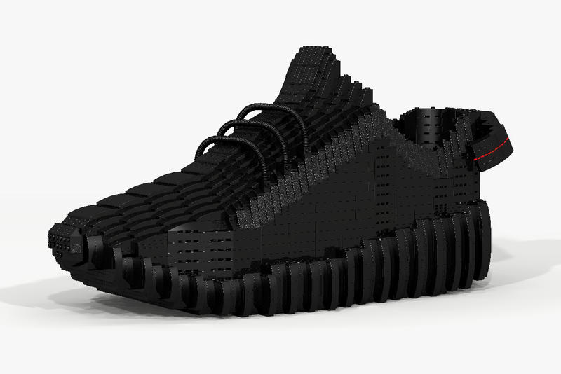 ccabe71819b The Yeezy Boost 350 Gets the LEGO Treatment