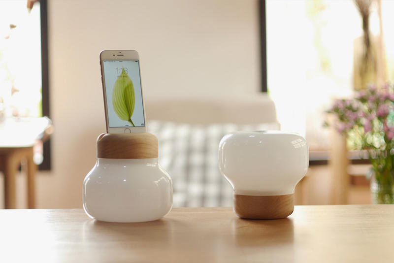 The Mushroom Lamp Doubles as an iPhone Charger