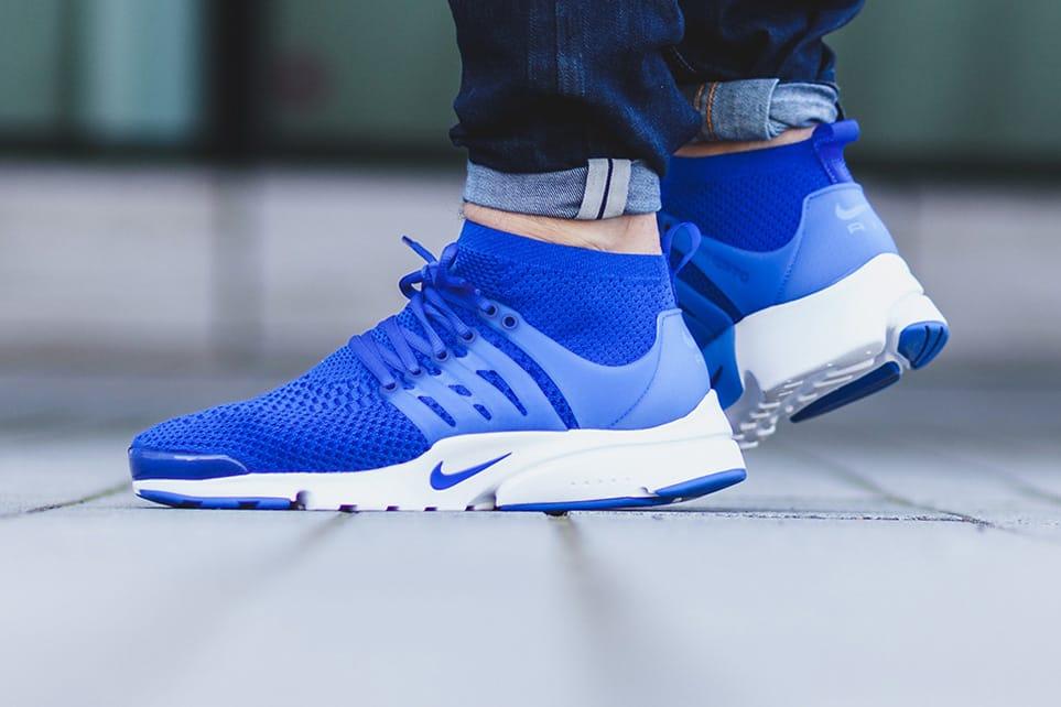 Nike Air Presto Ultra Flyknit In Blue