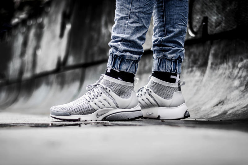 amazing price wholesale outlet sneakers Nike Air Presto Ultra Flyknit Wolf Grey Sneaker | HYPEBEAST