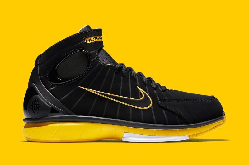 Nike Air Zoom Huarache 2K4 Yellow Maize
