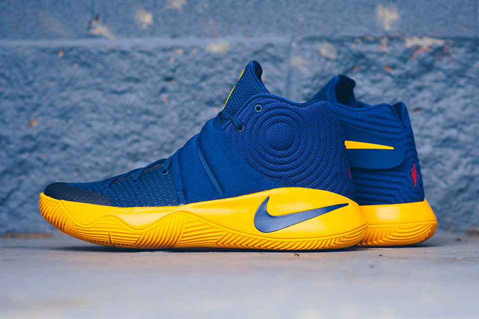 sale retailer d4360 7e3b2 Nike Kyrie 2 in Cavs Colorway   HYPEBEAST