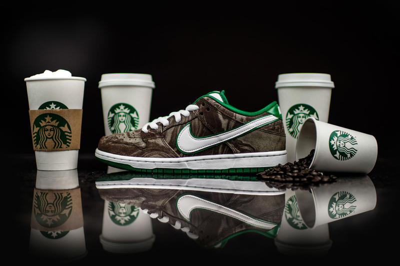 0948016a6c28 Nike SB Pays Tribute to Starbucks With the Dunk Low Premium