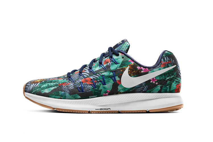 86aaa537bc5 NIKEiD Welcomes Floral Patterns to the Air Zoom Pegasus 33 Silhouette