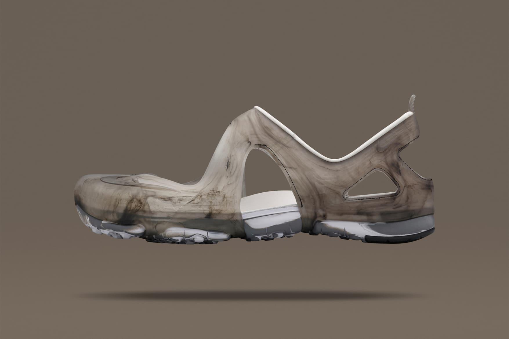 Fluid Patterns Adorn the Latest NikeLab Free Rift Sandal