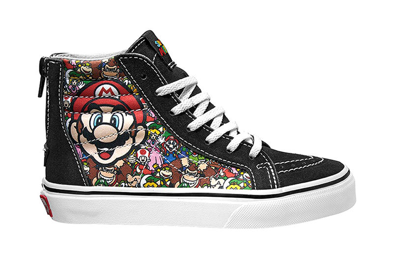 df9b58524fec Vans Transforms Your Childhood Into Sneaker Form With This Nintendo  Collaboration