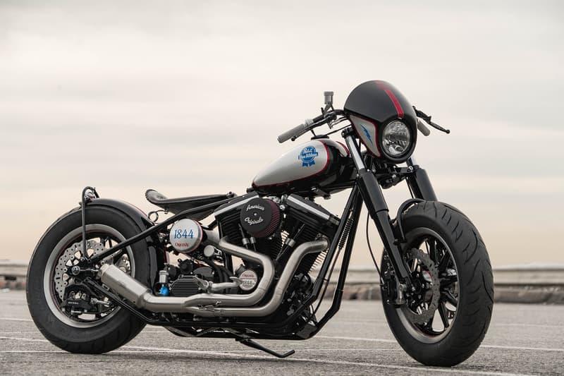 Pabst Blue Ribbon x The Speed Merchant Custom Motorcycle