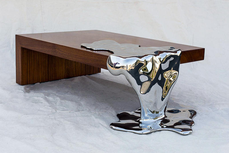 Rado Kirov Stainless Steel Furniture, Stainless Steel Furniture