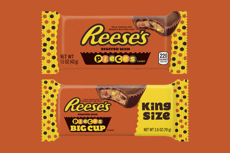 Reeses Pieces Stuffed Reeses Cups Hypebeast
