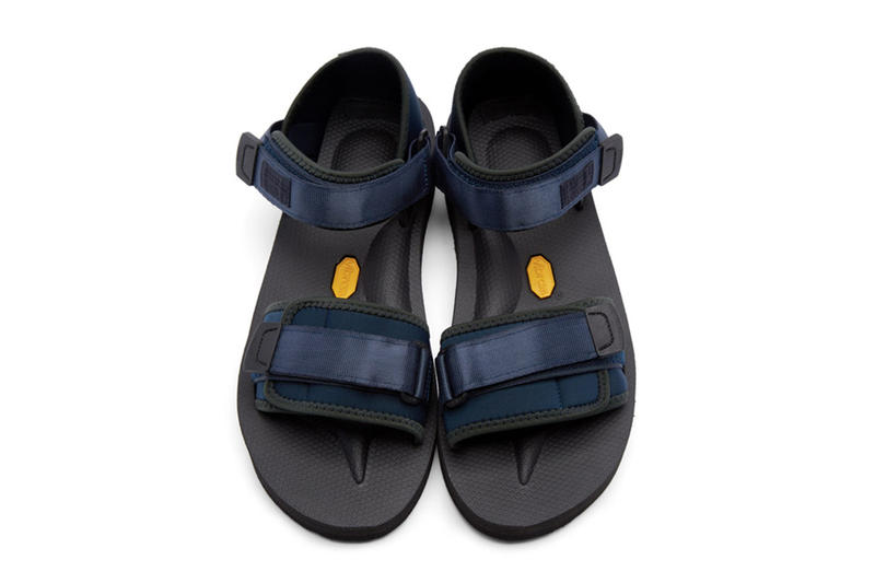 5f6df1d3d3f Robert Geller x Suicoke Limited Edition Navy Sandals | HYPEBEAST