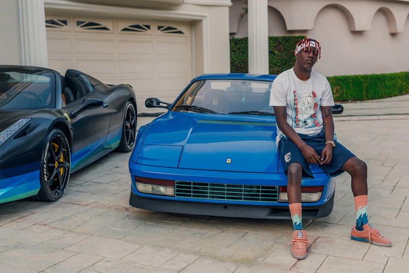 ad7ecced67e210 Lil Yachty Fronts New PUMA and Pink Dolphin Capsule Collection