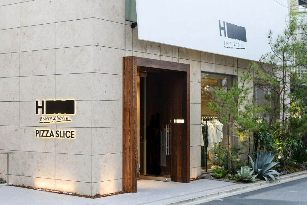A Look Inside the New H BEAUTY & YOUTH Tokyo Store