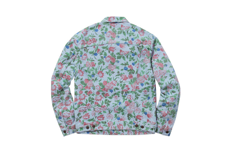7b2febe81ab5 Supreme x Levi s 2016 Spring Summer Floral Collection