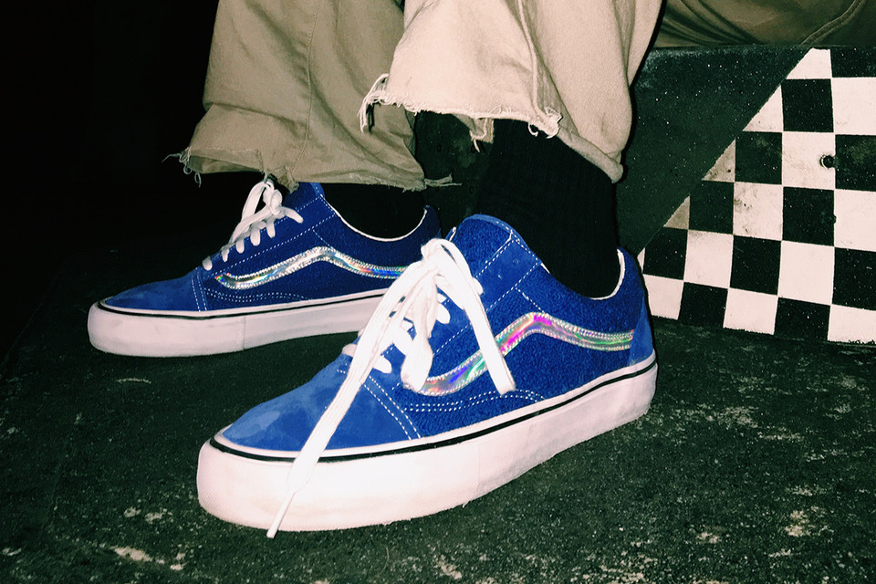 5347302827f2 Supreme x Vans 2016 Spring Summer Collection. Iridescent ...