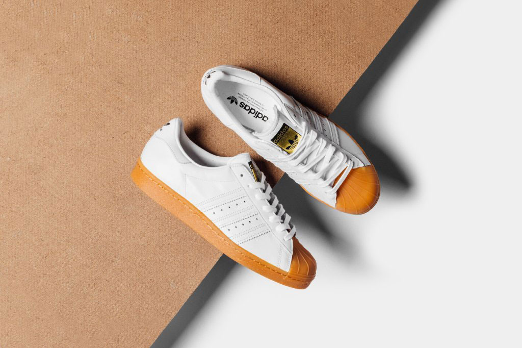 adidas Originals Superstar 80s Deluxe White