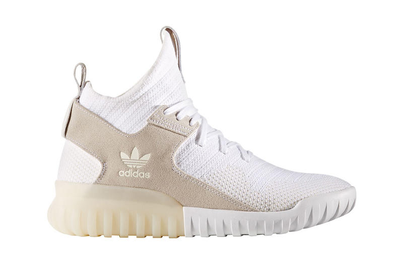 adidas Originals Tubular X Primeknit White Tan  6c34860d8