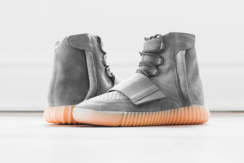 "442a83744d6a5 ... adidas Yeezy Boost 750 in ""Light Grey Gum"". Dropping at a store near  you."