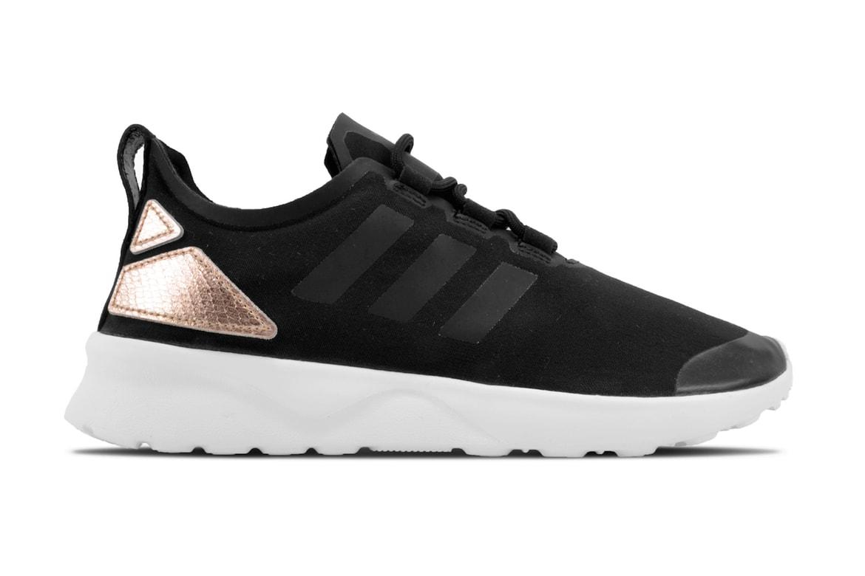 innovative design a04a1 ae192 adidas ZX Flux ADV Verve Core Black/Copper Metallic Sneaker ...