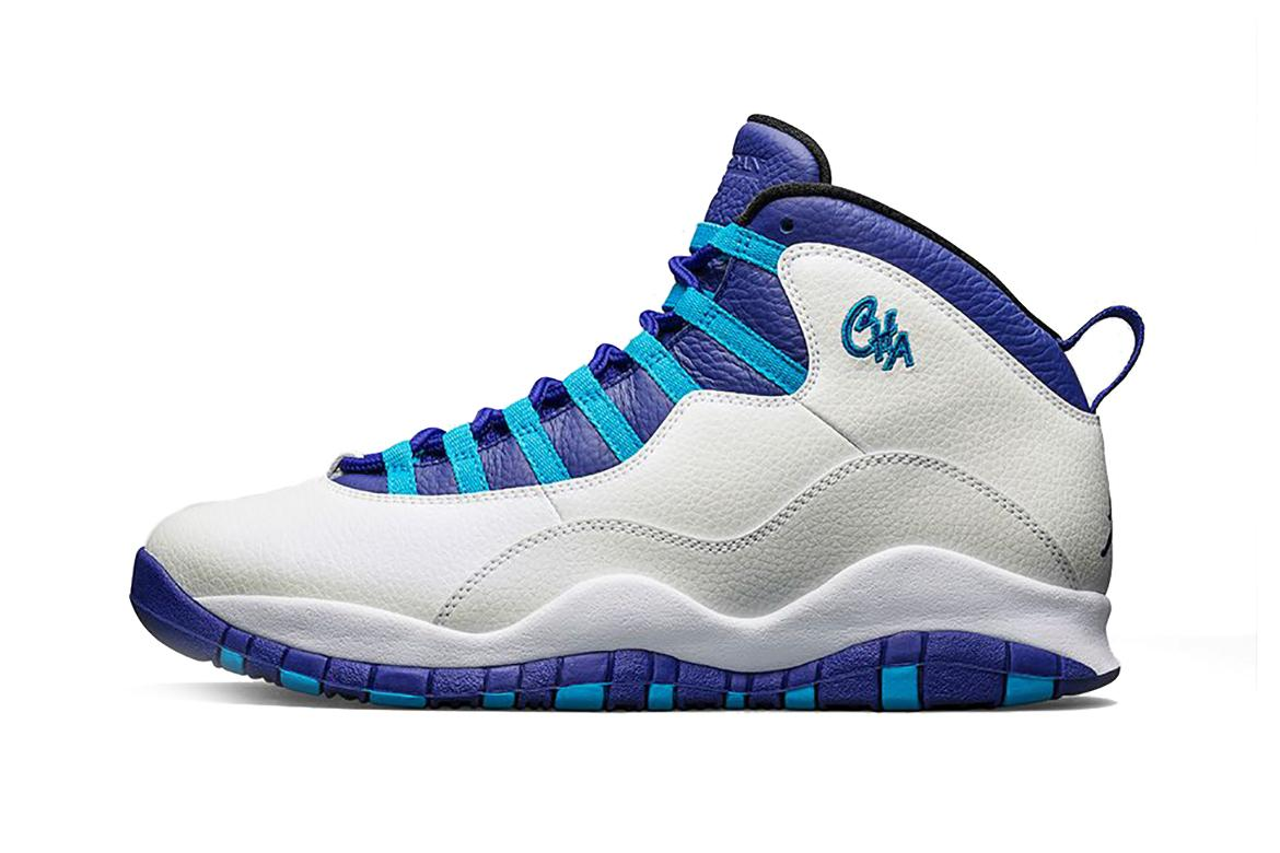 Air Jordan 10 City Pack Charlotte