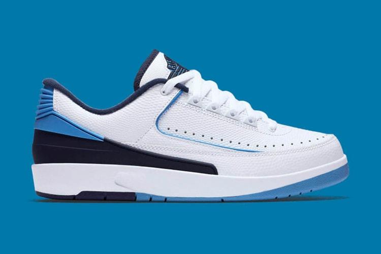 66857df2d80 The Air Jordan 2 Low Gets a Tar Heels-Inspired Makeover