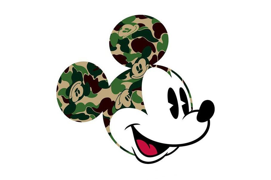 8848cdac BAPE x Disney