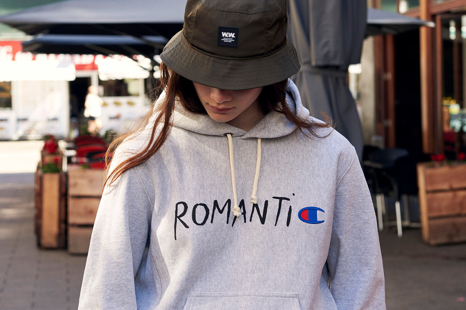 Wood Wood X Champion Quot Romantic Quot Capsule Collection Hypebeast