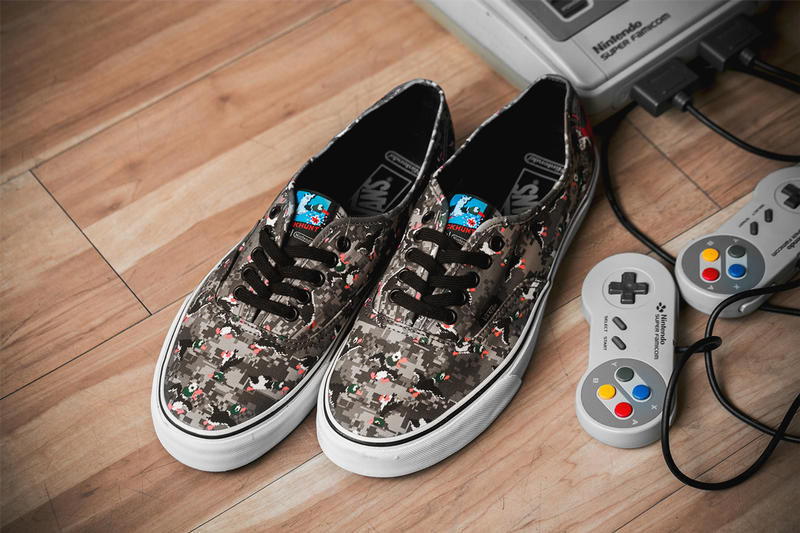 2d289e2dc2e2e4 Vans and Nintendo Collaboration Closer Look