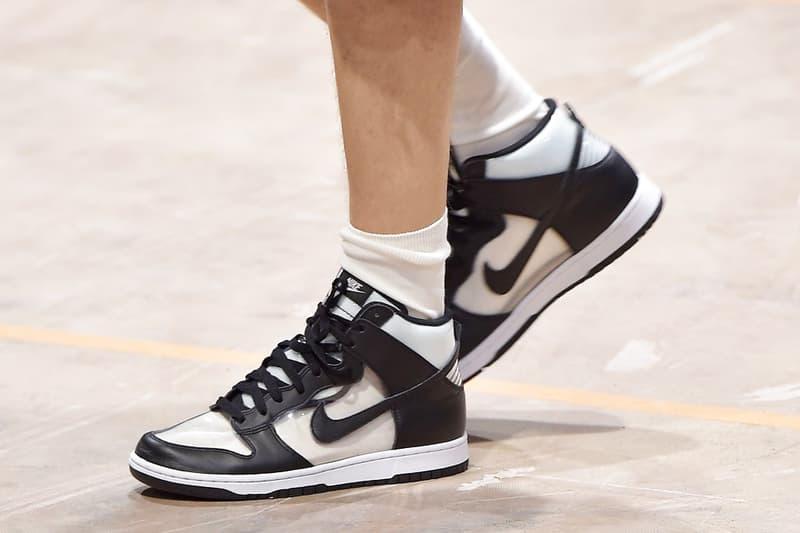 8df8339aaa34 COMME des GARÇONS HOMME PLUS x Nike Dunk High Debuts in Paris