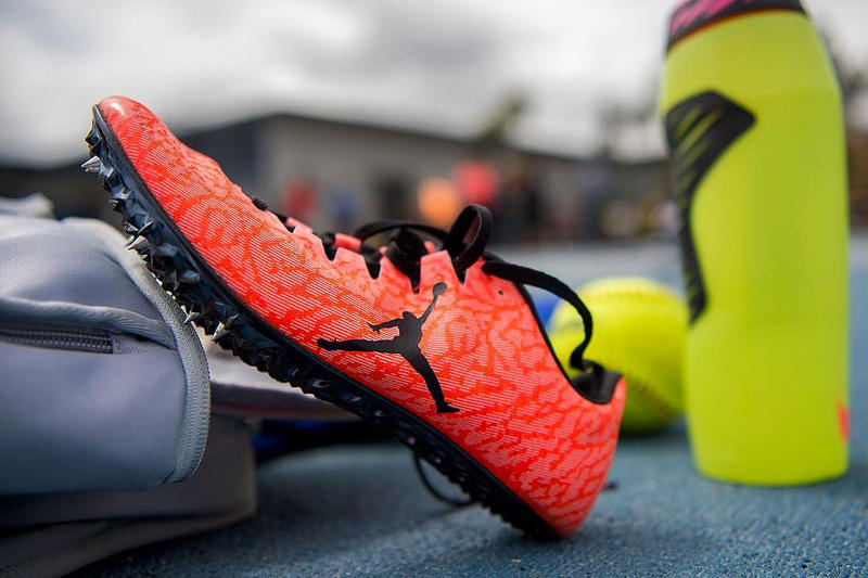 buy popular 6e2f2 45554 For track and Jordan athlete Kori Carter.