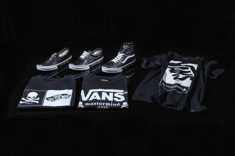 a3a427b8a2 mastermind JAPAN   Vans Drop a Range of Footwear and Apparel