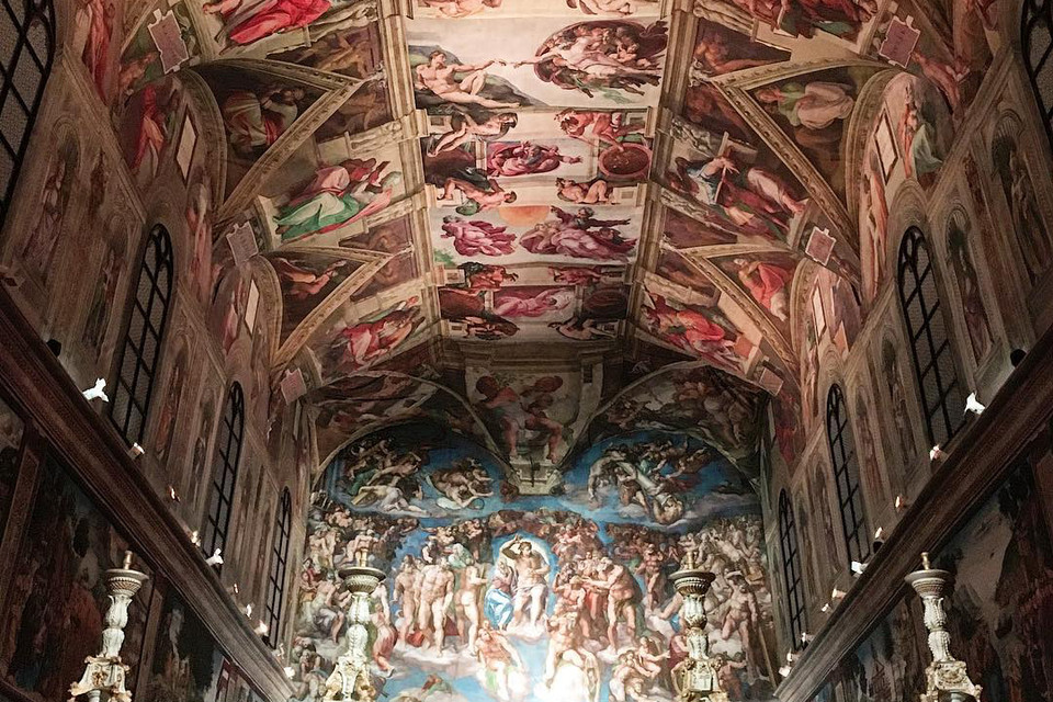 Michelangelo Sistine Chapel Replica In Mexico City Hypebeast
