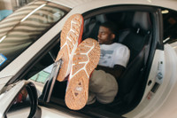 New Balance's Trayvon Bromell Shares His Love of Speed on Both Tarmac and Tartan Tracks