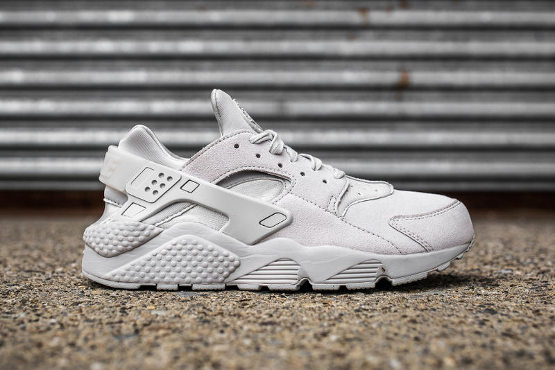 e4e8f721b0889 Nike Covers the Huarache in Premium Grey Suede