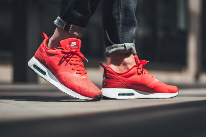 cf4b85095feaa Nike Air Max Tavas Drops in Fiery Action Red