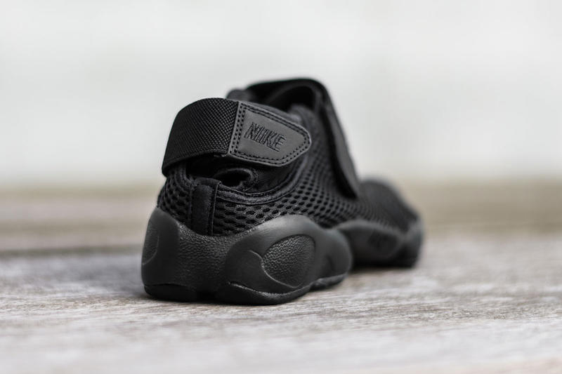 27ddf5b0599 The Nike Air Rift Gets a Menacing Black Colorway