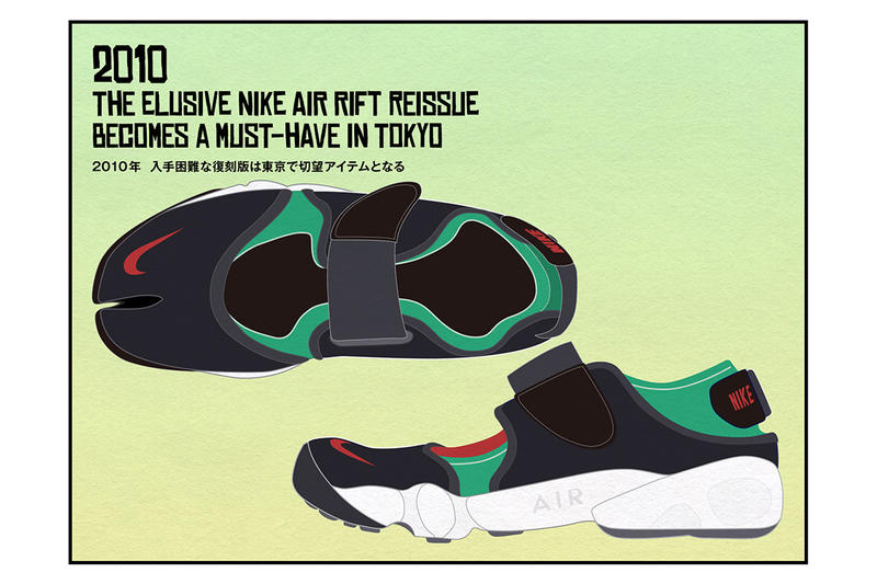 Nike Air Rift Reissue