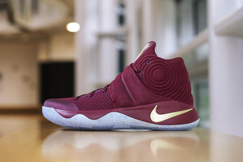 separation shoes daf0f 4b684 Nike Gives a Cavs Treatment to the Kyrie 2 PE
