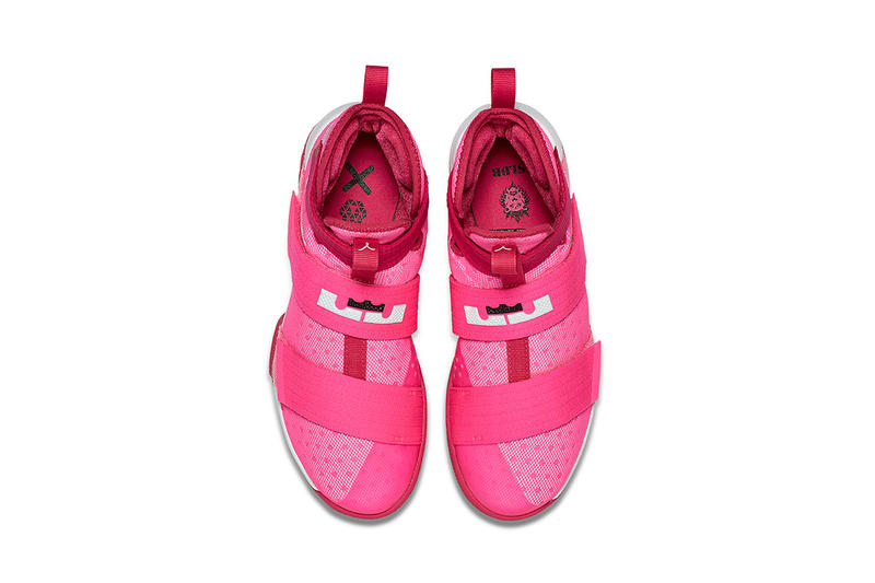 watch f964b 9770b Nike, LeBron soldier 10, Think Pink, basketball
