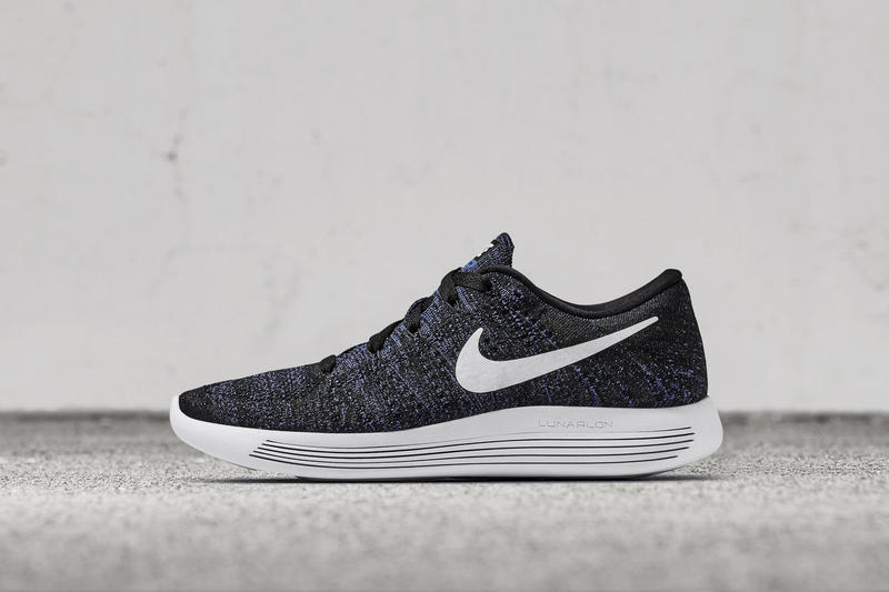 info for f1ded 50631 Nike Debuts the LunarEpic Flyknit Low With Two Sleek Colorways. Black and  blue, but no bruises.