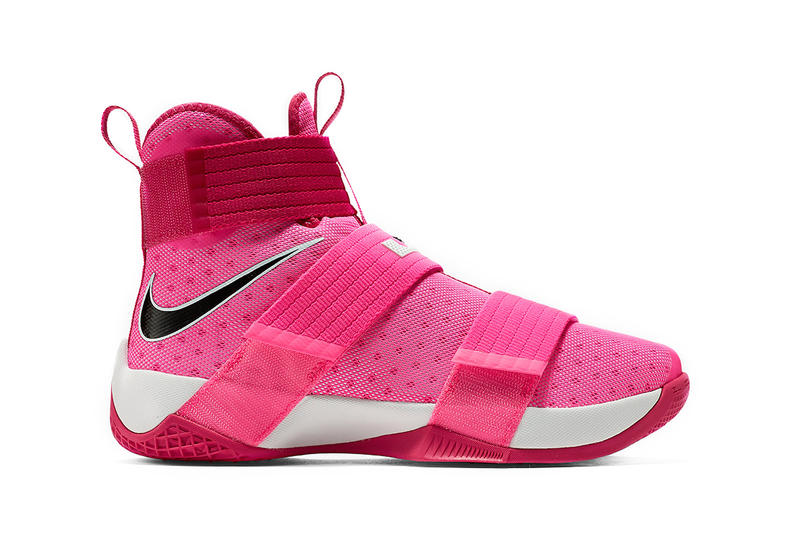 Nike, LeBron soldier 10, Think Pink, basketball