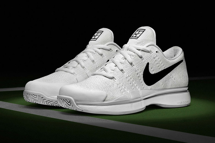best website 62ccf bc9e6 Nike Supports Roger Federer For Wimbledon With New Flyknit-Based Nike Zoom