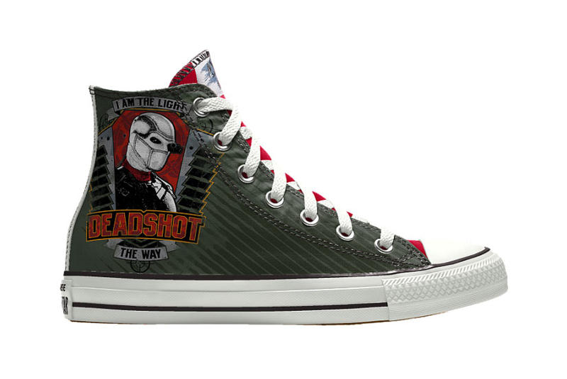 ea169d71779a Converse NiKEiD Chuck Taylor Suicide Squad Custom Sneaker