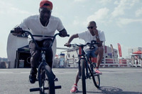 Watch as Pharrell, Nigel Sylvester, Joey Bada$$ and Their BMX Crew Take Over New York City