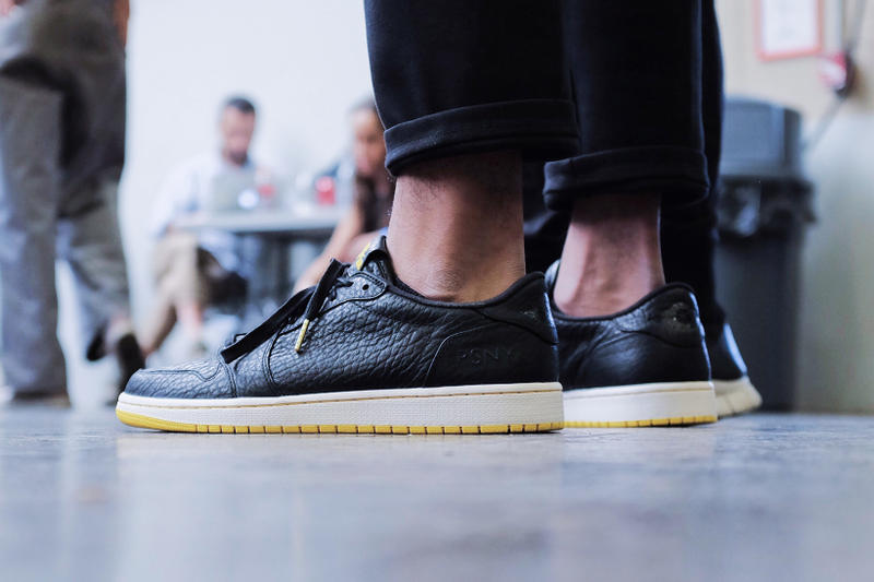 new product 6dbee 8fea9 A First Look at the PSNY x Air Jordan 1 Low